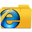 Ie, Browser Goldenrod icon