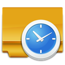 task, Scheduled Goldenrod icon