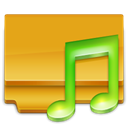 my, my music, music Goldenrod icon