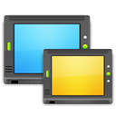place, network, my, my network Black icon