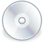 Cd, Disk, save, disc DarkGray icon
