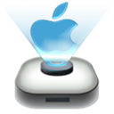 Apple, mac Black icon
