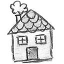 house, wife, homepage, Building, Home Black icon
