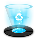 Empty, recycle, Blank DeepSkyBlue icon
