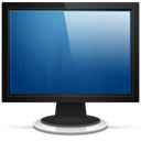monitor, Computer, Display, screen, my computer SteelBlue icon