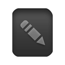 Edit, write, document, File, paper, writing Black icon