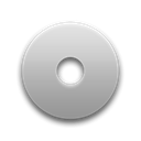 Disk, save, disc Black icon