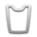 Blank, recycle, Empty Black icon