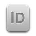 File, paper, document, indd, Indesign Black icon