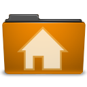 Human, Home, Folder, homepage, Account, Orange, user, profile, people, Building, house DarkGoldenrod icon