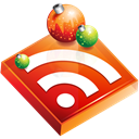 feed, christmas, subscribe, Rss Black icon