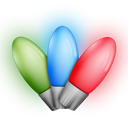 tip, led, hint, bulb, Energy, christmas lights DarkSeaGreen icon