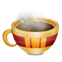 Coffee, mug, Chocolate, food, christmas Black icon