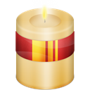 Candle, light, christmas, Energy, tip, hint Black icon