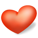 love, valentine, Heart Tomato icon