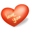 you, love, valentine Icon
