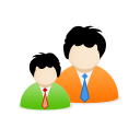 Buddy, group DarkOrange icon