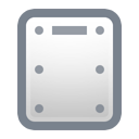 hard disk DimGray icon