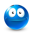 happy, smile, Emoticon, idiotic, Emotion DodgerBlue icon