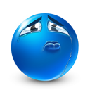 Crying DodgerBlue icon
