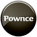 Pownce Black icon