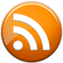 feed, subscribe, Rss DarkOrange icon
