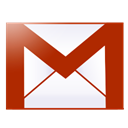 google, gmail, Email Firebrick icon