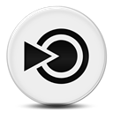 Logo, Blinklist Black icon