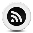 Circle, feed, round, subscribe, Rss Black icon