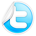 Social, social network, twitter, Sn Black icon