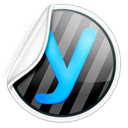 yammer Black icon