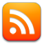 subscribe, Rss, feed, simple OrangeRed icon
