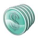Currency, Cash, coin, Money Icon