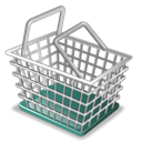 Basket, Shoping Black icon