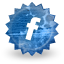 Facebook, social network, Sn, Social SteelBlue icon