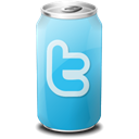 social network, drink, twitter, Social, Sn Black icon