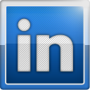 Linkedin, Social, social network MidnightBlue icon