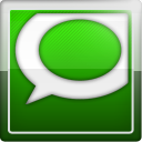 Social, Technorati, social network DarkGreen icon