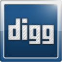 Digg, Social, social network MidnightBlue icon