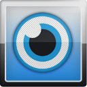 Vi, social network, Social, sualize us, us, sualize SteelBlue icon