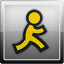 Social, Aol, social network Gainsboro icon