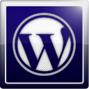Wordpress, social network, Social MidnightBlue icon