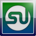 Stumbleupon, Social, social network MidnightBlue icon