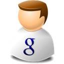 people, Human, google, user, profile, web, Account Black icon