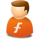profile, web, user, people, Account, Human, Furl Chocolate icon