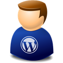 people, user, web, Wordpress, Human, profile, Account MidnightBlue icon