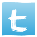 twitter, Social, Sn, social network SkyBlue icon