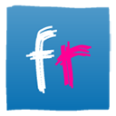 flickr SteelBlue icon
