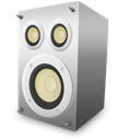 voice, sound, speaker Black icon
