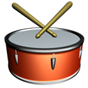 Drum Black icon